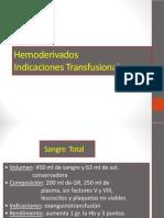 Hemoderivados_Indicaciones_Transfusionales