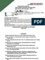 M24 Sniper Rifle Manual