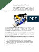 Cara Mengatasi Flashdisk Rusak Minta Di Format.docx