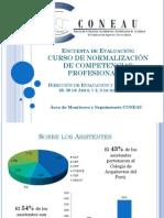 Curso de Normalizacion de Competencias Profesionales_Mayo_2013