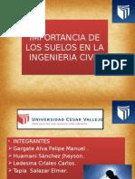 Importancia de Los Suelos en La Ingenieria Civil