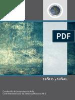 N° 5.- NIÑOS Y NIÑAS Cuadernillo de Jurisprudencia de la CIDH