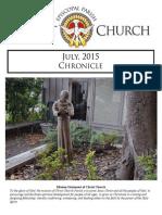 Christ Church July Chronicle 2015