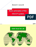 Basic Principles of HACCP (a)