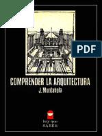 COMPRENDER LA ARQUITECTURA ▪⁞ Josep Muntañola