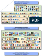 udl placemat of core ipad apps