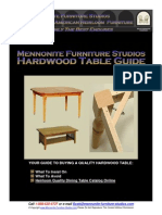 Mennonite Furniture Studios Dining Tables Furniture Guide