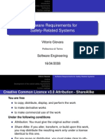 [slides] Software Requirements for Safety-Related Systems
