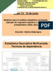 2015. UBA.M2. Clase 13 Multiv Avanzado ValDabenigno
