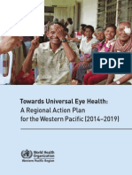 Towards Universal Eye Health Western Pacific