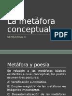 La Metáfora Conceptual