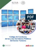 Codigo de Conductoa de Los Servidores Publicos Del Turismo FONATUR