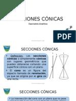 SECCIONES CONICAS CIRCUNFERENCIA