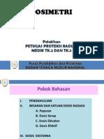 Dosimetri Medik 2 ATRO Bali