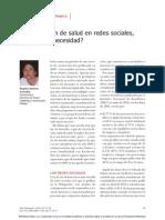 Comunicaciòn de Salud en Redes Sociales ¿capricho o necesidad?