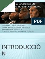 Evidencia Evolutiva en Primates, Homínidos y Homo (1)