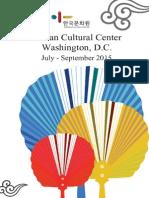 KCCDC July-Sept 2015 Programs