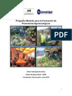 Experiencia de Formación de Promotores Agroecologico