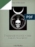 Lilin Society Initiation