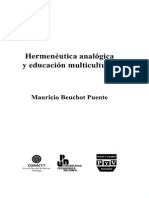 Hermeneutica Analogica Y Educacion Multicultural