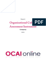 2012 Report OCAI Questionaire 6 Dimensi