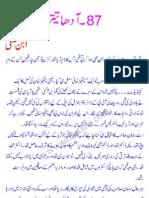 Imran Series No. 87 (Link 2) - Aadha Teetar (Half Partridge)