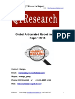 Global Articulated Robot Industry Report 2015