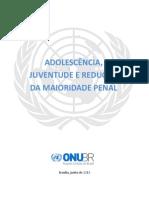 Adolescência, Juventude e Redução Da Maioridade Penal