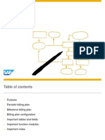 SAP BL Billing Plan