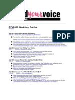 FindYourVoiceWorkshopOutline Traducción