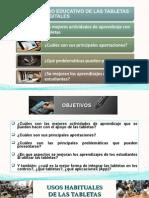 USO EDUCATIVO DE LAS TABLETAS DIGITALES