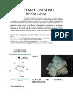 Sistema Cristalino Hexagonal
