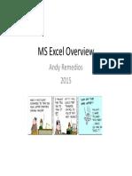 MS Excel Presentation