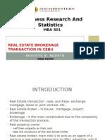 Real Estate Brokerage PRESENTATION