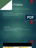 ASPECTOS FUNDAMENTALES DE LOS GRUPOS DE PRESIÓN Y OPINIÓN PÚBLICA