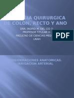 Patología Quirúrgica de Colon, Ano y Recto