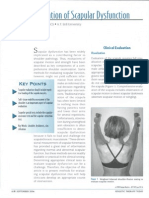 Clinical Evaluation of Scapular Dysfunction