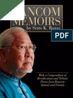 Bancom Memoirs by Dr. Sixto k. Roxas ebook