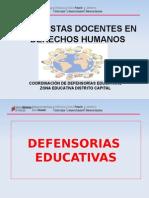 Brigadistas Docentes en Derechos Humanos 2015