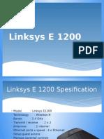Linksys E 1200