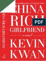 China Rich Girlfriend - Kevin Kwan (Extract)