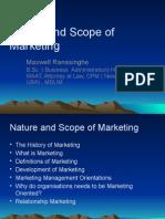 1natureandscopeofmarketing2011!12!120121075134 Phpapp01