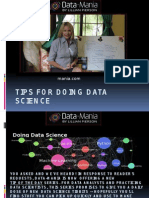 statistics for data science,Tips for Doing Data Science