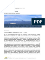 Revue de Presse Du 25.06.15 Au 1.07.15