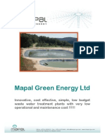 Industrial Wastewater Treatment Plants - Mapal Green Energy