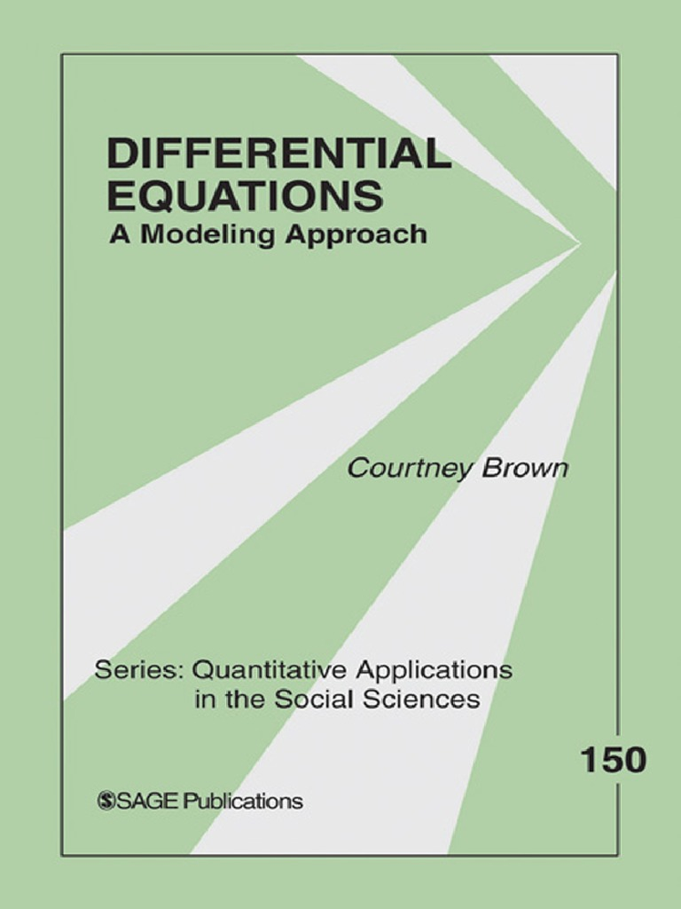 Differential equations a modeling approachpdf determinism differential equations a modeling approachpdf determinism statistics fandeluxe Gallery