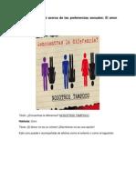 Propaganda Social Acerca de Las Preferencias Sexuales