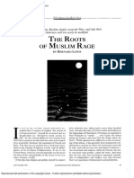 Roots of Muslim Rage