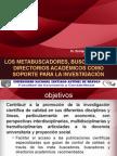 Metabuscadores, buscadores y directorios académicos como soporte de la investigación científica