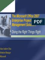 MS Office 2007 Enterprise Project